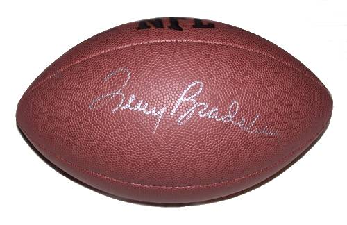 Terry Bradshaw Autographed Football