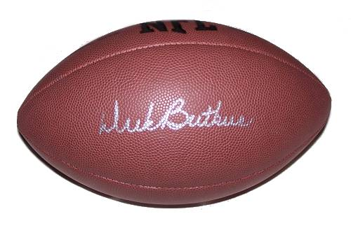Dick Butkus Autographed Football