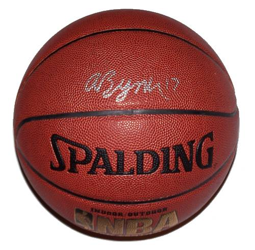Andrew Bynum Autographed Basketball
