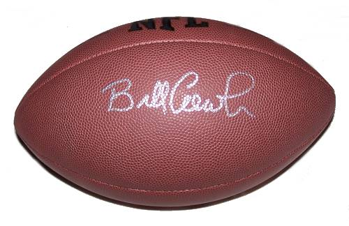 Bill Cowher Autographed Football