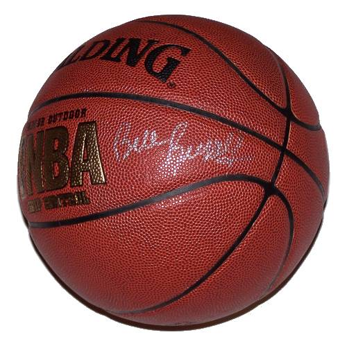 Bill Russell Autographed Basketball