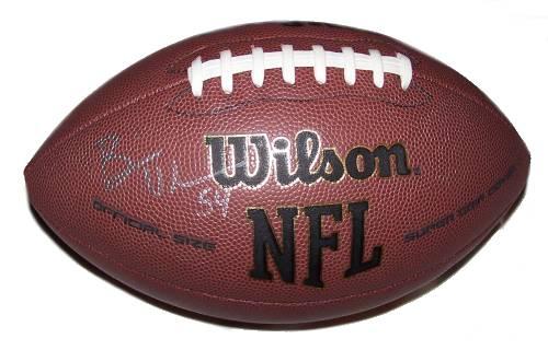 Brian Urlacher Autographed Football