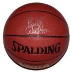 bill walton signed basketball